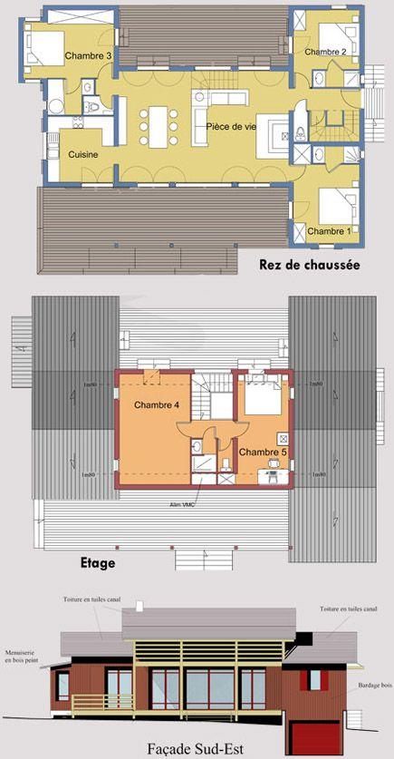 Maison Bois sur Pilotis Béton - La plage - Toit et Bois Maisons en - Plan Maison Bois Sur Pilotis