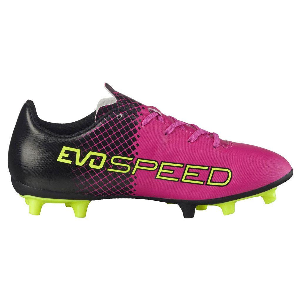 autumn shoes low cost super popular Soulier de soccer PUMA evoSPEED 5.5 Tricks FG Junior soccer cleats ...
