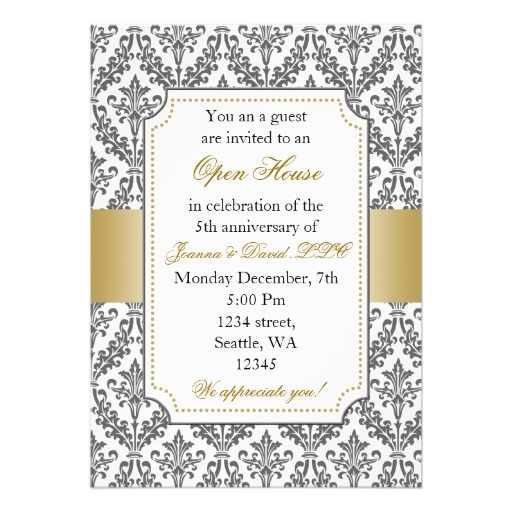 Elegant Corporate party Invitation Design Ideas Pinterest - office party invitation templates