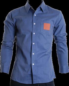 Denim Blue Full Plain Shirt Shirts, Plain shirts, Free
