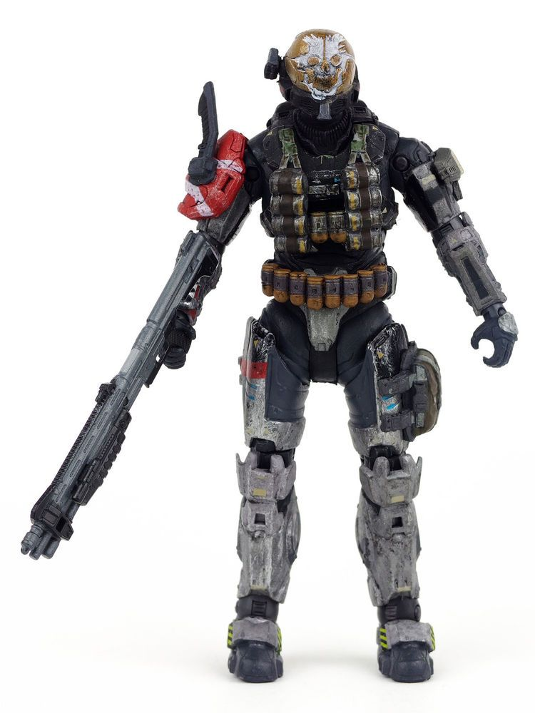 a81cc7d0f4a5e6 Halo Reach series 1 Spartan EMILE Action Figure Noble Four 4 McFarlane Toys  #McFarlaneToys