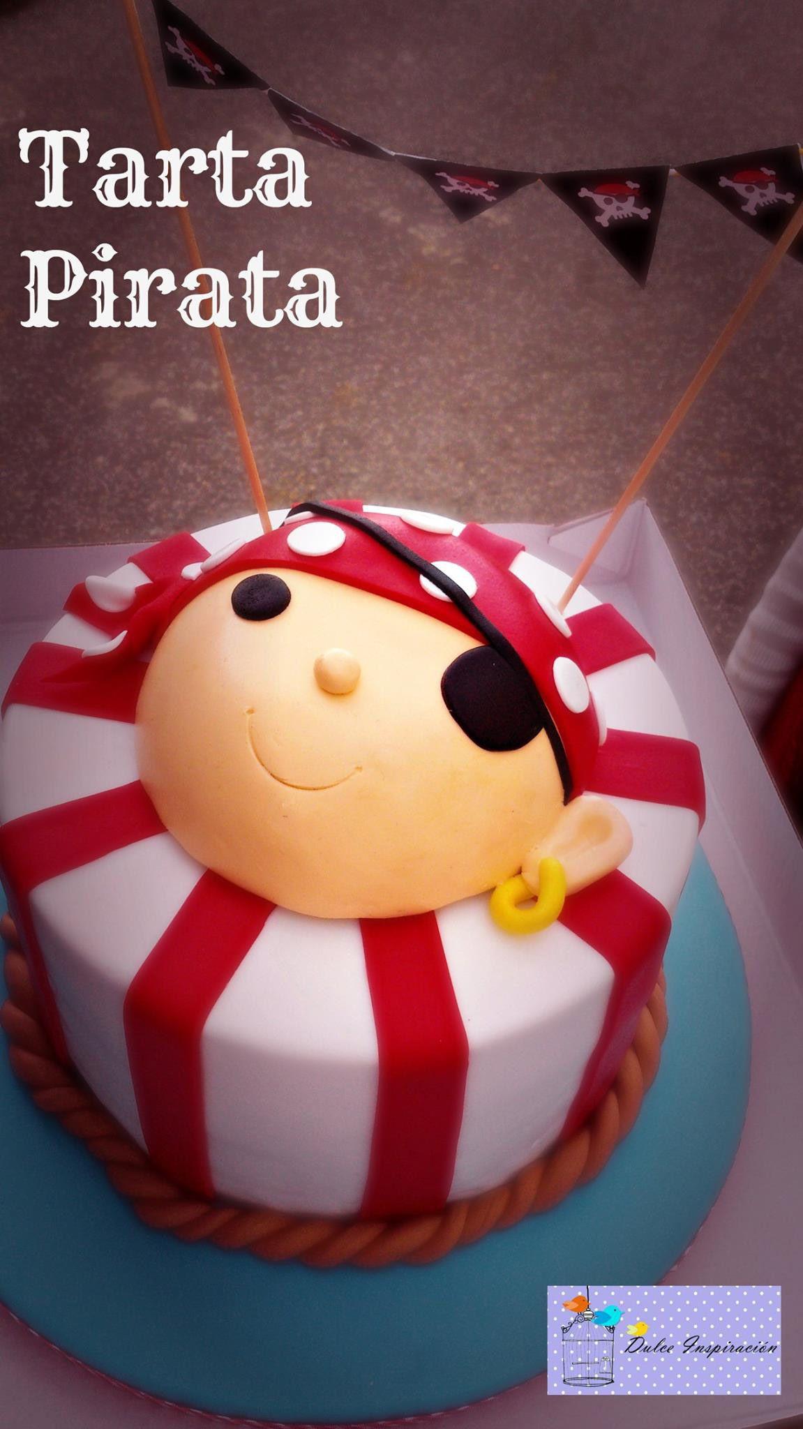 Nuestra Tarta Pirata!!!! Diseñada con líneas básicas y puras ...