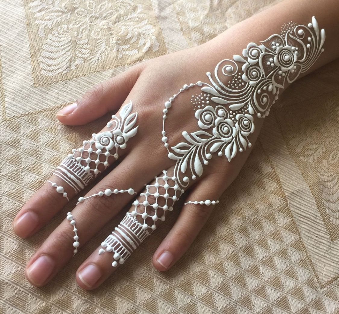White Ink Henna: Pin By Lolly LaNuevo On Henna
