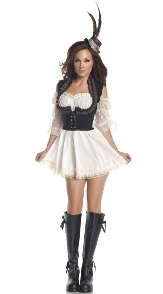 Shop for steampunk costumes like this Steampunk Lady at Yandy ...