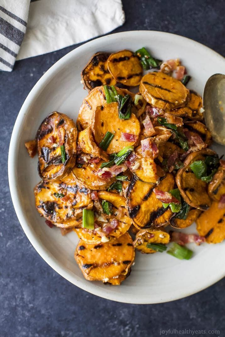 Grilled Sweet Potato Salad | Healthy Sweet Potato Recipe