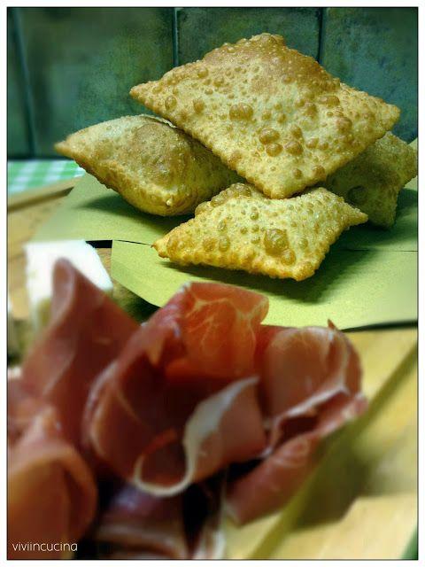 Vivi in cucina: Torta fritta di Parma senza lievito (il mio street food)