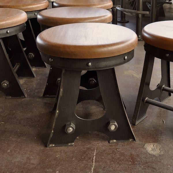 a frame bar stool vintage industrial furniture industrial furniture and vintage industrial. Black Bedroom Furniture Sets. Home Design Ideas