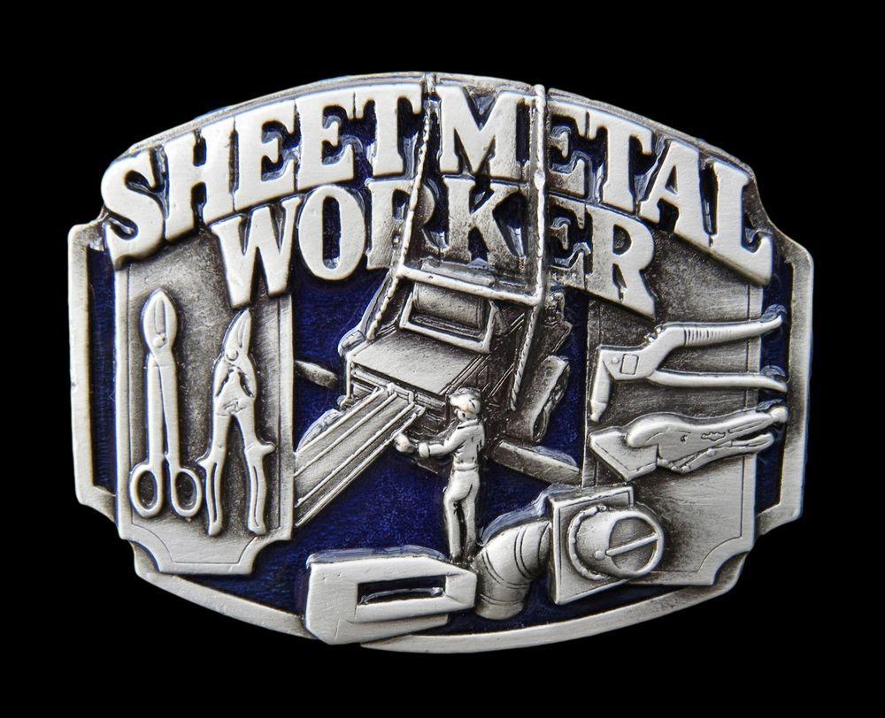 SHEET METAL SHEETMETAL OPERATOR PRODUCTS DESIGNS TOOLS UNION BELT BELTS BUCKLES #sheetmetalworker #sheetmetal #metalworker #beltbuckle