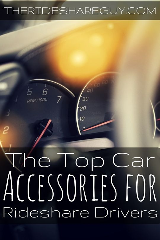 Driving for Uber or Lyft? Here are the top car accessories