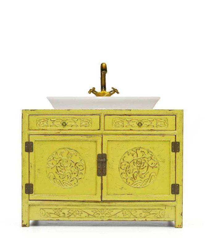Ba o mueble con cajeado asiatico muebles chinos for Muebles de asia