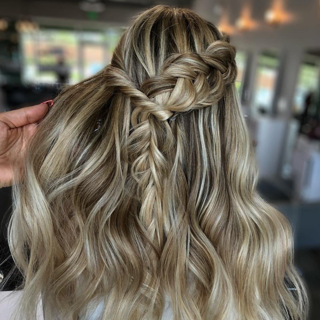 Half up half down hairstyle #hairstyles