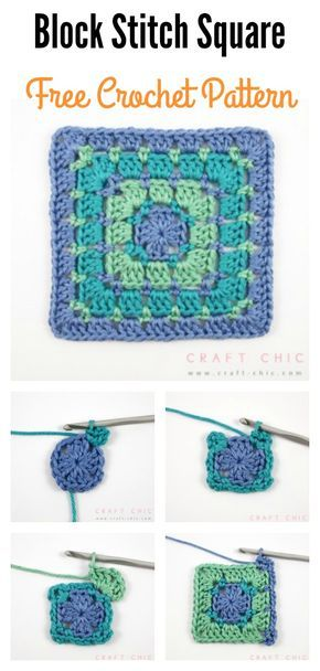 Beautiful Block Stitch Free Crochet Patterns And Projects Crotchet