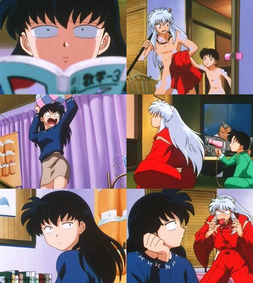 Gap between the ages Feudal Fairy Tale Inuyasha