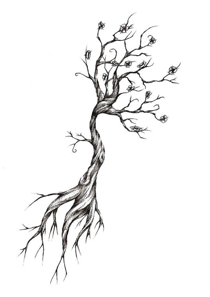 OLD TREE -   24 old tree tattoo ideas