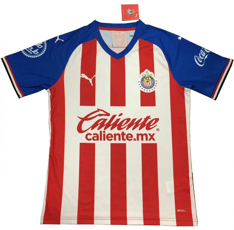 Hacia fuera desmayarse Sociedad  NEW+Chivas+De+Guadalajara+Home+Jersey+Futbol+2019-2020+Jersey #messi  #ronaldo #futebol #love q#championsleague #realmadrid #ball #p… | Jersey,  Futbol, Soccer jersey