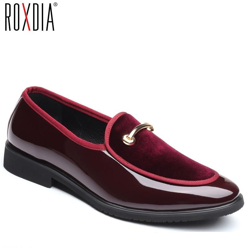 new Mens pointy toe slip on business Formal wedding casual Dress Shoes plus size