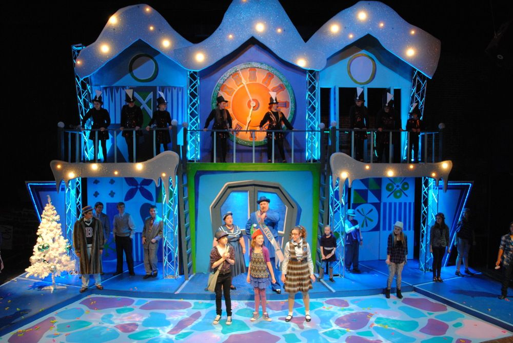 The Happy Elf. Pennsylvania Youth Theatre. Scenic design by Megan Truscott.