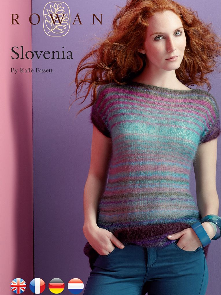 Slovenia Top Rowan Yarns Knitting Free Pattern Les Autres