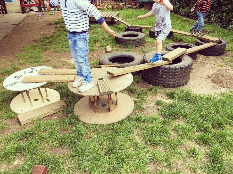 open ended gross motor play in 2020 | Eyfs outdoor area, Outdoor play spaces, Outdoor play areas
