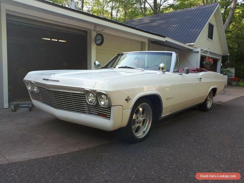 Car For Sale 1965 Chevrolet Impala With Images