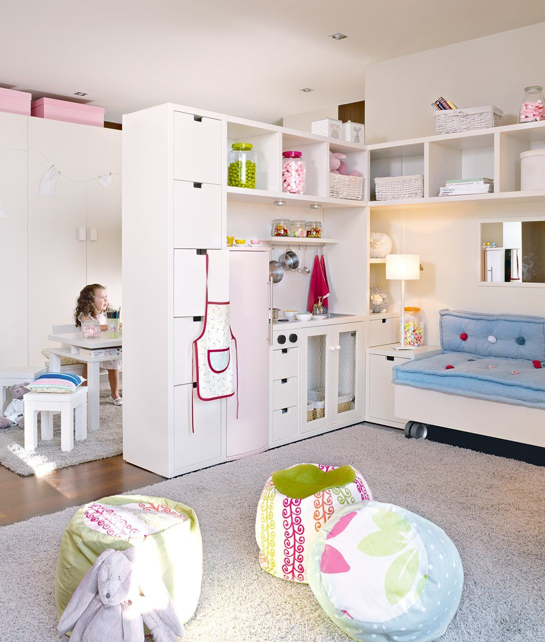 Habitaciones de juegos geniales ni os - Juegos de decorar cuartos para ninas ...