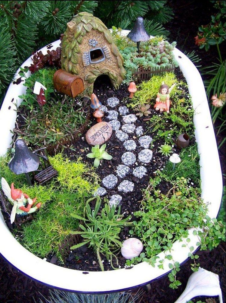 35 Gorgeous Diy Fairy Garden Ideas Gardening Large Fairy