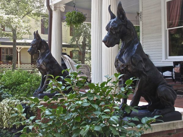 Bronze Sculpture By Sculptor Wesley Wofford Titled Great Dane