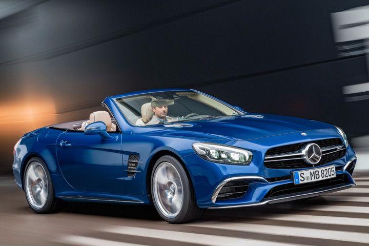 Mercedes slclass gets a muchneeded facelift mercedes