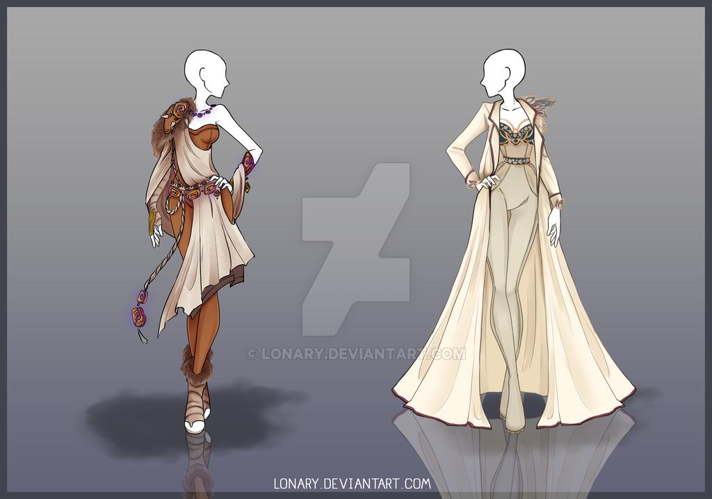 [Open] Design adopt_73-74 by Lonary.deviantart.com on @DeviantArt