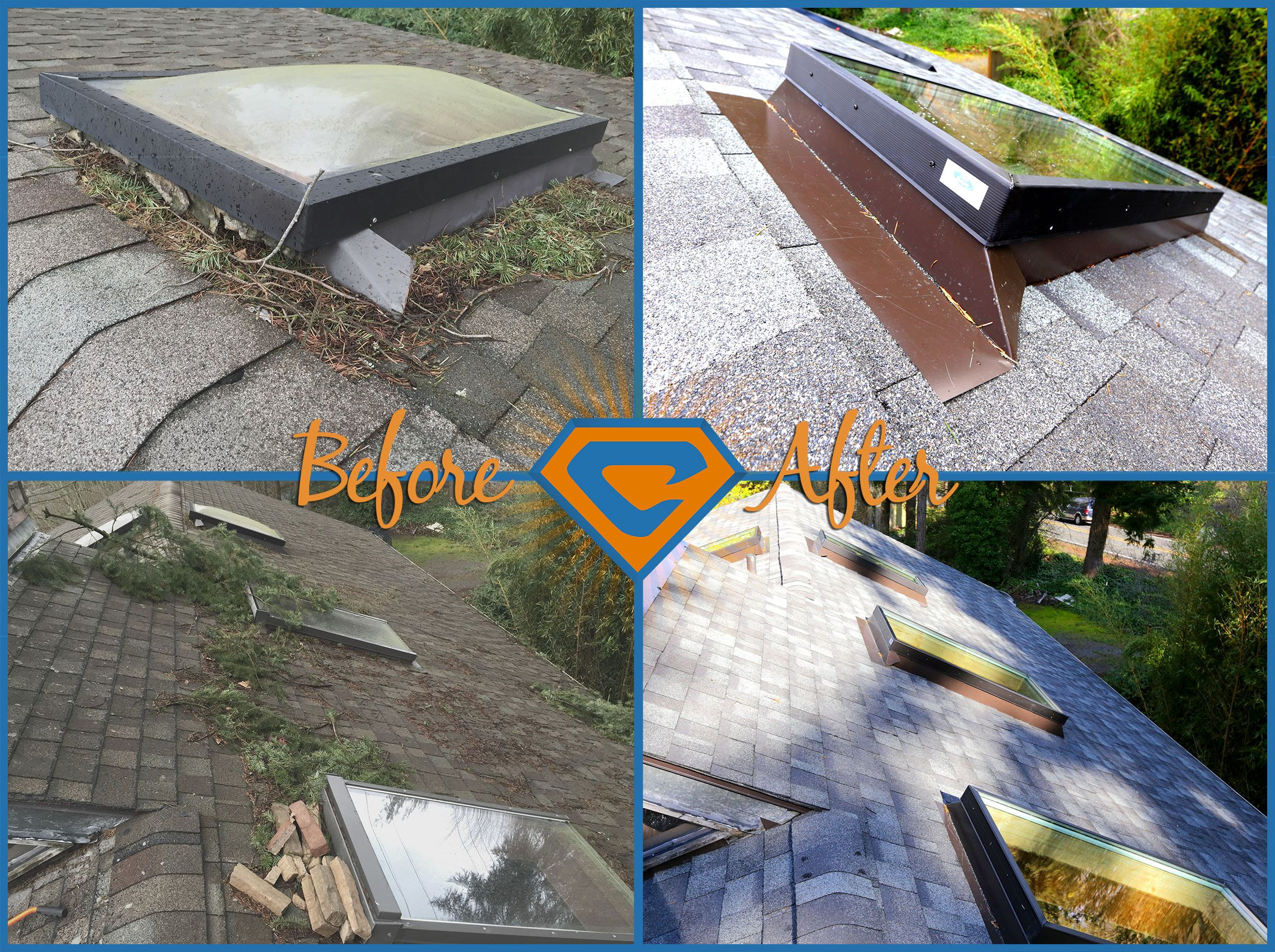 Someone Got A New Roof And New Tam Skylights Installed By Chase Construction North West Inc Let Us Know What You Skylight Coffee Table Pallet Coffee Table