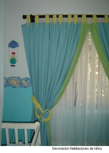 Cortinas de dormitorio para ninas buscar con google for Cortinas para cuarto de bebe