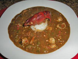 Chef JD's Comfort Cuisine: Cajun Crawfish and Shrimp Filé Gumbo