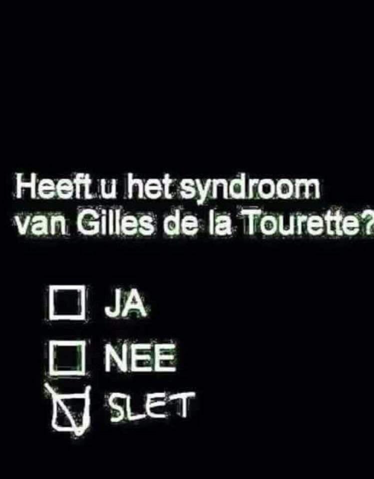 Gilles De La Tourette Humour : gilles, tourette, humour, Jenny, Humor, Grappig