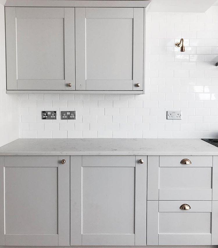 Best Howdens Fairford Dove Grey By Gretelbaron Grey Shaker 400 x 300
