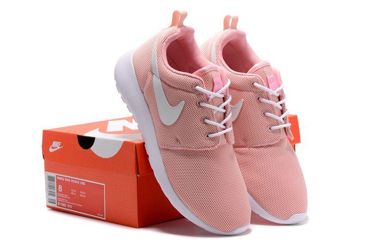 le donne nike roshe una corsa rosa che le scarpe pinterest