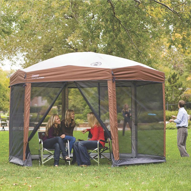 Coleman Hexagonal Instant Screened Canopy Screened Canopy