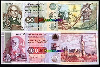 The Royal Bank of Scotland plc 10 Pounds - exchange yours today