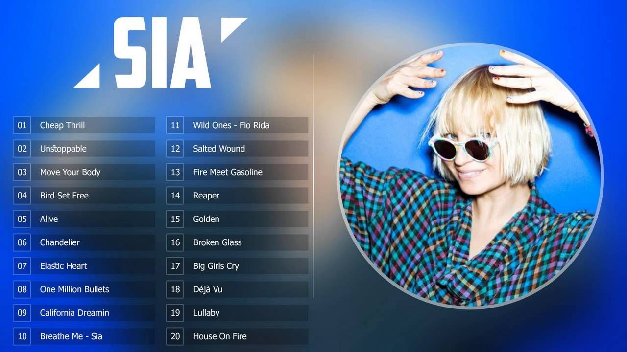 Sia Greatest Hits 2016 New Best Songs Of Sia Full Album Best