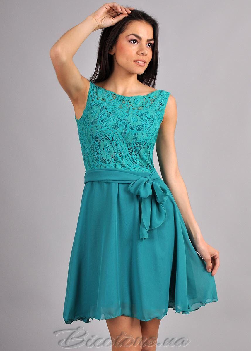 Aqua Blue Wedding Dress Chiffon bow Dress Lace Dress Circle Skirt ...