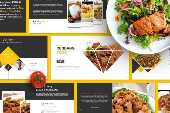 Food Presentation Powerpoint By Brandearth On Creativemarket