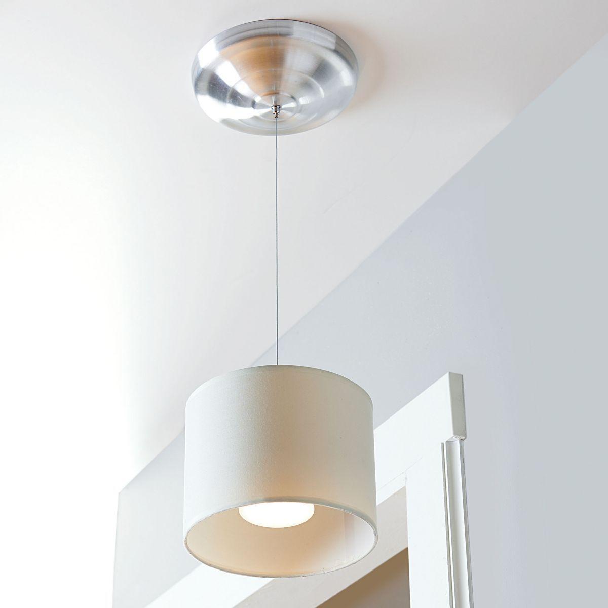 Wireless Led Fabric Pendant Light Apartment Decorating Rental Pendant Light Apartment Decor