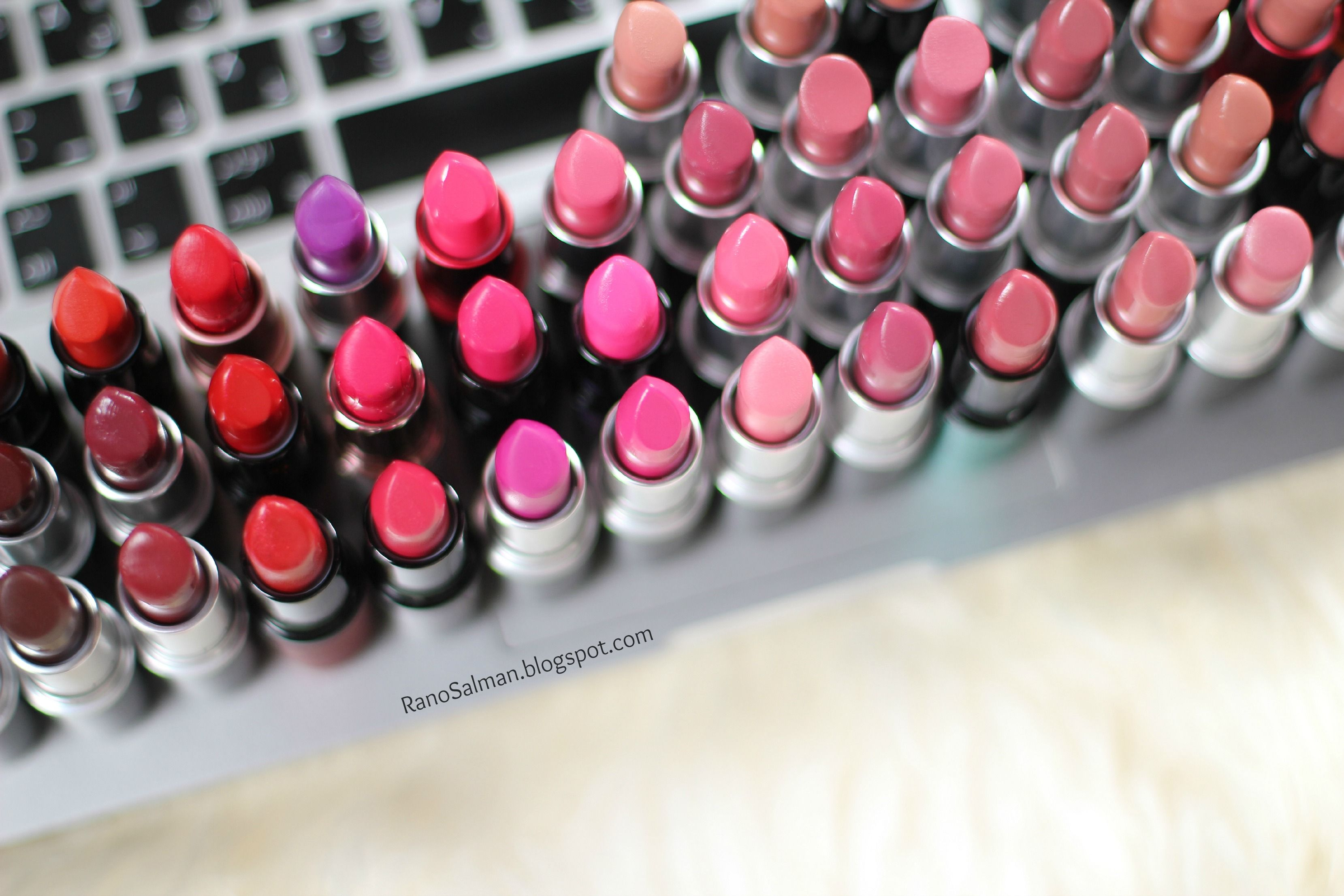 Mac Lipsticks Collection P1 أرواج ماك الجزء الأول Mac Lipstick Collection Mac Lipstick Lipstick Collection