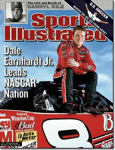 Sports Illustrated cover, July 01, 2002