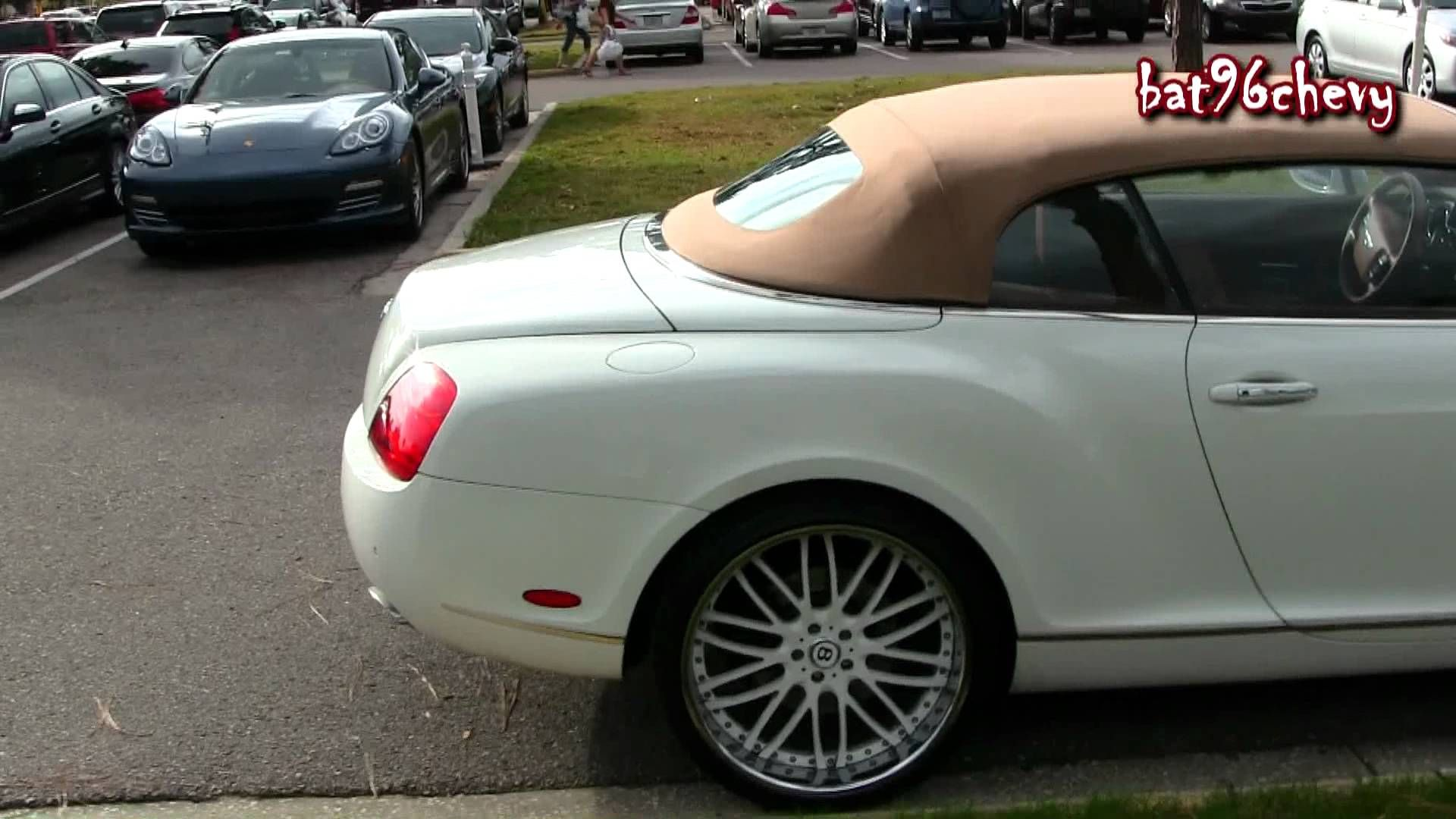 bentley with rims Bentley Coupe Continental GTC