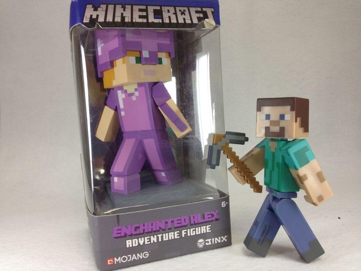 Jinx Minecraft エンチャントアレックス アドベンチャーフィギュア うたかたの日々 マインクラフトのキャラクター アドベンチャー マインクラフト