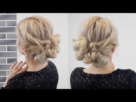 Quick Easy Hairstyles Gorgeous Easy And Cute Hairstyle Easy And Quick Buns Updo  Awesome