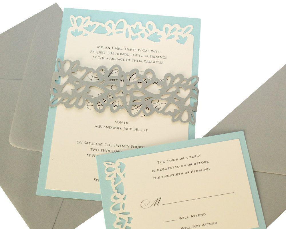 Beach wedding invitation sets : diy wedding invitation kits beach ...