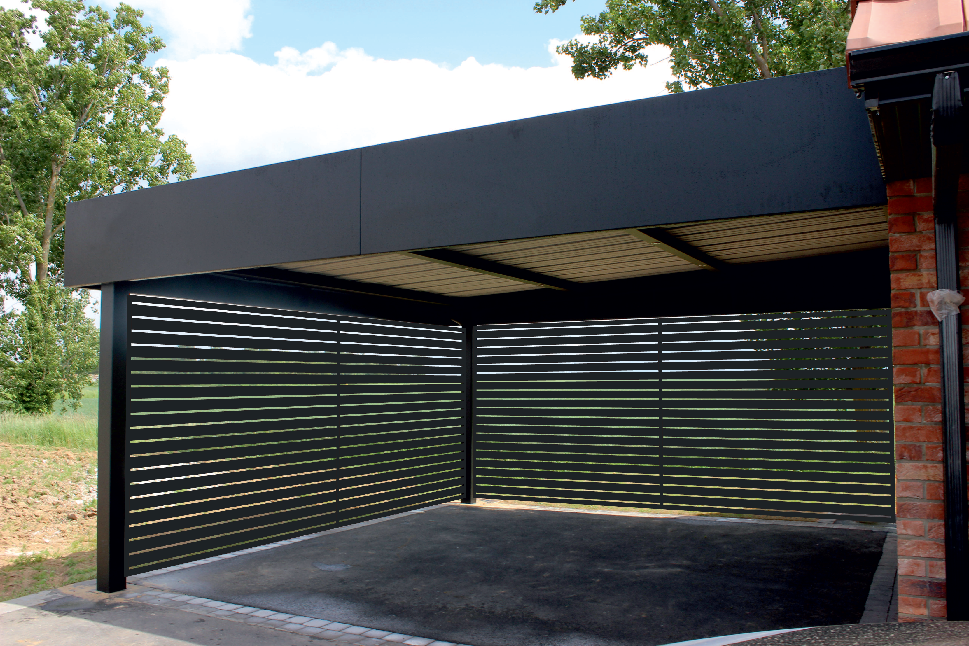 Carport Aluminium Tori Portails Carport Designs Carport Garage Modern Carport