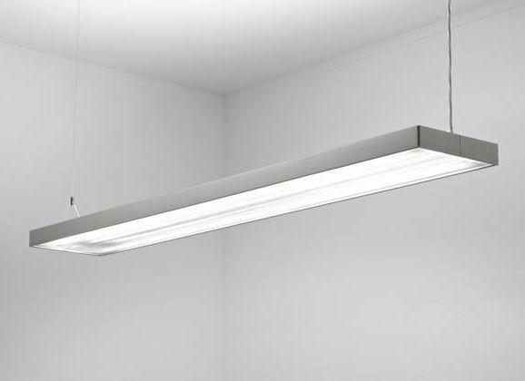 Suspended Light Fixture Fluorescent Linear Estra Spectral Suspended Lighting Fixtures Suspended Lighting Light Fixtures Hanging fluorescent lighting fixtures