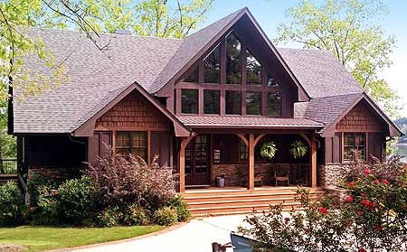 Vacation Escape With Views Mountain House Plans Lake House Plans House Plans